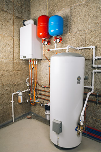 Water heater replaced by Matheson technicians