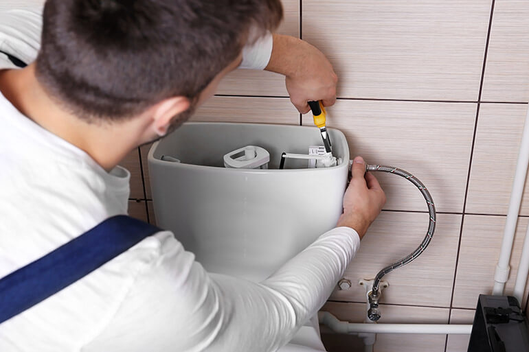 Toilet Repair Walled Lake MI