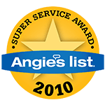 Angie's List 2010 Award Logo
