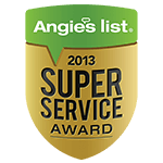 Angie's List 2013 Award Logo