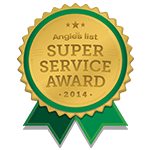 Angie's List 2014 Award Logo