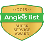 Angie's List 2015 Award Logo
