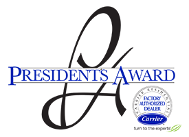 carrier presidents award logo